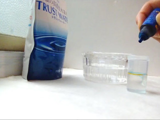 開封直後の水素水ver.3